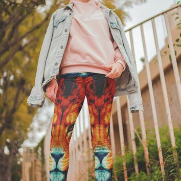 Colorful Tiger Legging