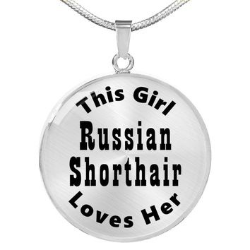 Russian Shorthair - Luxury Necklace