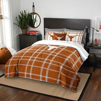 Texas Longhorns NCAA Full Comforter Set (Soft & Cozy) (76 x 86)
