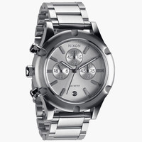 Nixon The Camden Chrono Watch Silver One Size For Men 25598514001