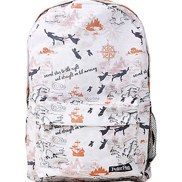 Loungefly Disney Peter Pan Never Land Map Print Backpack