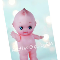 Kewpie Doll Post Card Set - Kewpie and Lights, Vintage Kewpie Doll