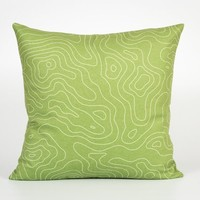Travel Decor. Couch Cushion Cover. Travel Pillow Case. Green Throw Pillow Cover. Green Decorative Pillow. Green Pillow Case