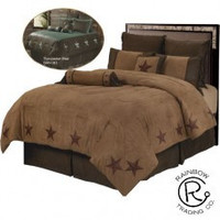 Rustic Star 6pc Bed Set