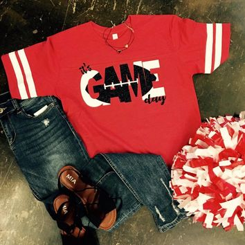 Game Day Red Tee