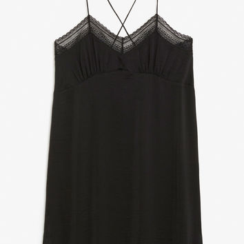 Nighty slip - Black magic - Underwear - Monki GB