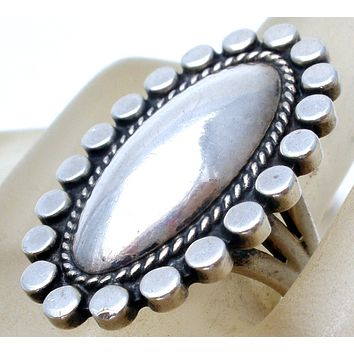 Sterling Silver Knuckle Ring Size 5.5