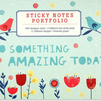 Do Something Amazing Sticky Notes Portfolio NPD