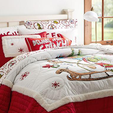 The Grinch Quilt Sham From Pbteen Bedding Love