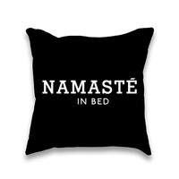 AvaWilde 'Namaste in Bed' Pillow