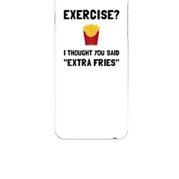 Extra Fries - iphone 6 Case