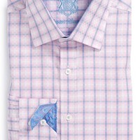 Men's Big & Tall English Laundry Trim Fit Check Dress Shirt