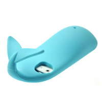 Silicon Whale Shpae Case For iPhone5