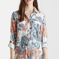 Copy of Paisley Floral Printed Blouse