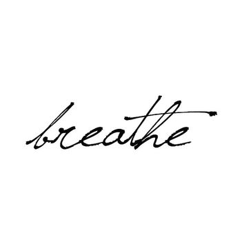 Breathe - Temporary Tattoo (Set of 2)