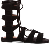 Jeffrey Campbell Redondo Sandal in Black