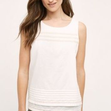 Lilla P Bequia Tank in Ivory Size: