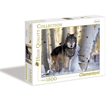 Winter Hunting - 1500 Piece Jigsaw Puzzle