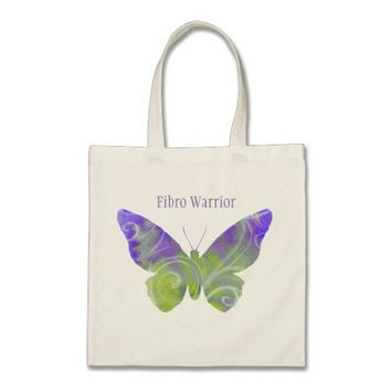 Fibro Warrior Butterfly Tote
