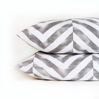 Tiled Chevron Pillowcase Set