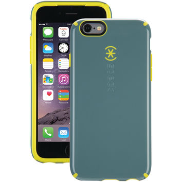 SPECK 71341-C063 iPhone(R) 6/6s CandyShell(R) Case (Heritage Gray/Antifreeze Yellow)