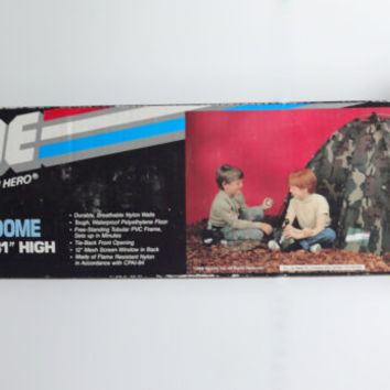 Vintage GI Joe Trooper Dome Tent 1986