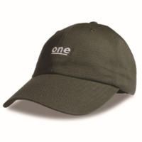 Army  Green One Embroidered  Hat Baseball Cap