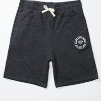 Diamond Supply Co Premium 98 Circle Fleece Shorts - Mens Shorts - Black