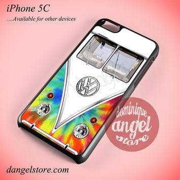 Tye Dye Volkswagen Bus Phone case for iPhone 5C and another iPhone devices