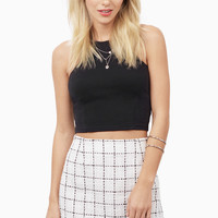 Sophisticated Coquette Mini Skirt $52