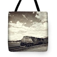 """Canada Rail Tote Bag for Sale by Ivy Ho (18"""" x 18"""")"""