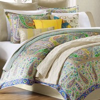 Echo Bedding, Scarf Paisley Comforter Sets - - Macy's