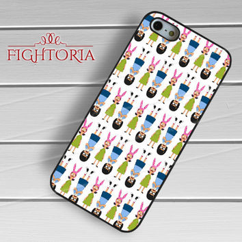 Tina and Louise Belcher -rdh for iPhone 6S case, iPhone 5s case, iPhone 6 case, iPhone 4S, Samsung S6 Edge
