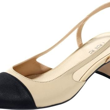 heine Slingpumps in beige   ABOUT YOU