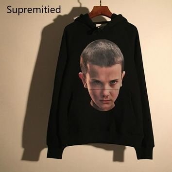 Ihnomuhnit Printed Face Hoodies Men Supremitied Ih Nom Uh Nit Paris Hip Hop Shark Skat