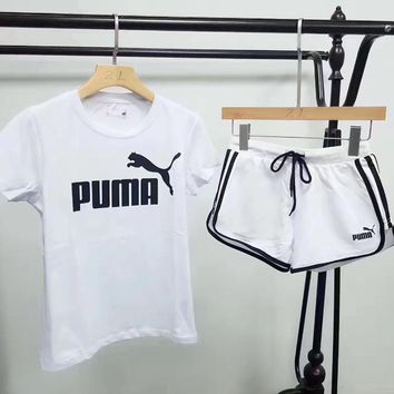 puma leisure sports pants sweatpants two piece  number 2