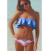 Bikinis Women Swimsuit Solid Swimwear Women 2017 Newest Bandeau Solid Brazilian Bikini Set Beach Bathing Suits Swim Wear Biquini