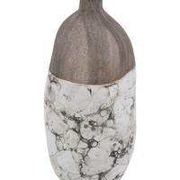 SAGEBROOK HOME | Small Brown/White Marbled Vase | Nordstrom Rack