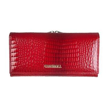 Long European and American Style Genuine Leather Wallet Coin Purse