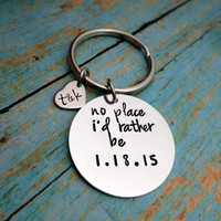 No Place I'd Rather Be, Near or Far, Long distance Relationship, Husband Gift, Boyfriend Gift, Me