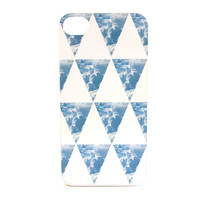 Triangle Clouds Phone Case