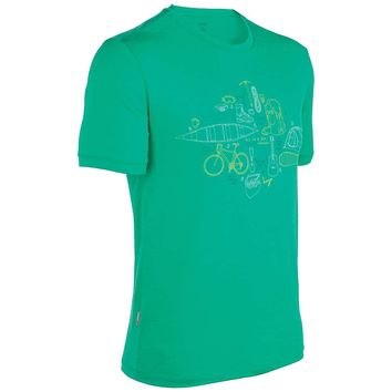 Icebreaker Tech T Lite - All in a Day - Men's