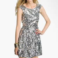 Trixxi Sequin Dress (Juniors) | Nordstrom