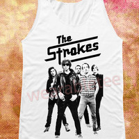 The Strokes Shirts Indie Rock Shirts Post Punk Shirts Unisex Shirts Vest Women Tank Top Women Tunic Tank Women Shirts Top Sleeveless Singlet