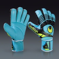 uhlsport Eliminator Absolutgrip - Ice Blue/Black/Fluo Yellow