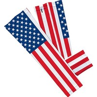 USA Flag Arm Sleeve S/M 2-Pack
