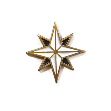 Compass Rose Pin