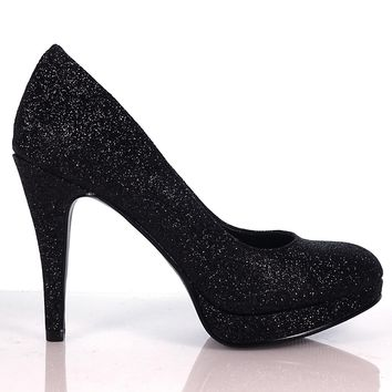 Eiffel By Delicious, Round Toe Pump Professional Work High Heel Shoes