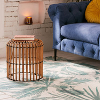 Luzan Palms Printed Rug | Urban Outfitters