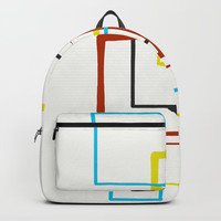 Nine Squared Backpack by David Darcy